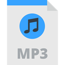 Mp3 Extension, Mp3 Format, Mp3 File, interface, musical note, music note, mp3, Files And Folders, Audio file Lavender icon