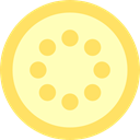 diet, food, Lemon, organic, Healthy Food, Food And Restaurant, vegetarian, Fruit, Citrus, vegan LemonChiffon icon