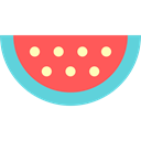 Fruit, organic, vegetarian, food, Healthy Food, vegan, diet, Food And Restaurant, watermelon Tomato icon