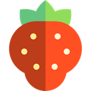 vegan, Healthy Food, Fruit, diet, vegetarian, Food And Restaurant, strawberry, organic, food Firebrick icon