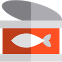 Healthy Food, Sea Life, Food And Restaurant, Aquatic, Aquarium, fish, Animals, food, tuna Gainsboro icon