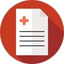 Notes, Prescription, Medicine And Health, prescribe, Prescribing, medical, Healthcare And Medical, Note Firebrick icon