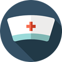 Cap, Bonnet, Healthcare And Medical, Nurse, hospital DarkSlateGray icon