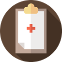 Clinic History, Healthcare And Medical, paper, Clipboard, medical DarkOliveGreen icon