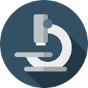 Observation, Healthcare And Medical, science, medical, scientific, microscope, Tools And Utensils DarkSlateGray icon