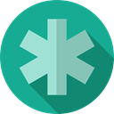hospital, Pharmacy, Healthcare And Medical, medicine, sign, signs LightSeaGreen icon