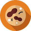 Healthcare And Medical, Cell, education, science, virus, Biology Chocolate icon