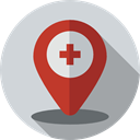 Maps And Location, pin, placeholder, signs, Map Point, map pointer, interface, Map Location LightGray icon