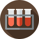 testing, medical, Healthcare And Medical, Blood Sample, Test Tube DarkSlateGray icon