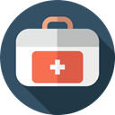 Healthcare And Medical, first aid kit, medical, doctor, hospital, Health Care DarkSlateGray icon