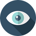 optical, Body Part, show, Healthcare And Medical, Multimedia Option, Eye, Ophthalmology DarkSlateGray icon