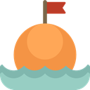Buoy, Beach, miscellaneous, Floating Coral icon