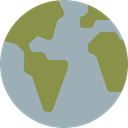 Maps And Location, travel, Earth Globe, international, Maps And Flags, Planet Earth, Geography, worldwide DarkGray icon