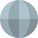 World Grid, international, Geography, Maps And Location, Maps And Flags, worldwide, Planet Earth, Earth Grid, Earth Globe DarkGray icon