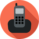phone, Conversation, technology, phone call, Call, electronics, telephone, Telephone Call Tomato icon
