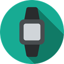 electronics, smartwatch, watch, wristwatch, Coding, technology LightSeaGreen icon