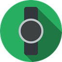 wristwatch, smartwatch, watch, technology, electronics, Coding MediumSeaGreen icon