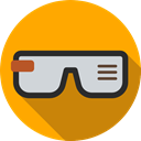 technology, electronic, digital, computing, Google Glasses, Computer, electronics Icon