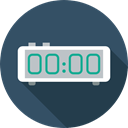 alarm clock, Clock, timer, electronics, time, Tools And Utensils DarkSlateGray icon