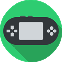 Multimedia, portable, Device, electronic, leisure, gamer, technology, Game Console, gaming MediumSeaGreen icon