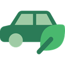 Automobile, transportation, Ecological, Ecology And Environment, electric car, vehicle SeaGreen icon
