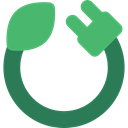 electronics, Cable, plug, charger MediumSeaGreen icon