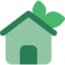 website, Multimedia Option, house, real estate, web page, buildings, Ecology And Environment DarkSeaGreen icon
