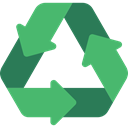 nature, signs, Arrows, Arrow, Ecology And Environment, Container, symbol, recycling, environment MediumSeaGreen icon