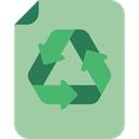 papers, Files And Folders, Recycled Paper, document, recycle, Ecology And Environment, Arrows, interface, signs, recycling, paper, File, eco DarkSeaGreen icon
