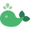 Animal, Aquatic, whale, Aquarium, Animals, Sea Life MediumSeaGreen icon