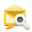 search, Sm Goldenrod icon
