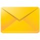 mail Gold icon