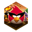 spacepng, bird, Angry Black icon