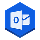 outlook RoyalBlue icon