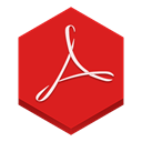 adobe, reader Crimson icon