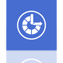 Mirror, ease, Access RoyalBlue icon