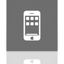 Iphone, Mirror DimGray icon