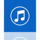 Mirror, itunes RoyalBlue icon