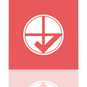 default, Mirror, program IndianRed icon