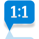 Answer, Mirror, Genesis DodgerBlue icon
