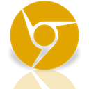 Canary, Mirror, Alt, google Orange icon