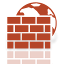 Firewall, Mirror, window Sienna icon