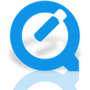 Mirror, quicktime DodgerBlue icon