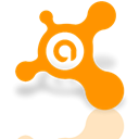 Antivirus, Mirror, avast DarkOrange icon
