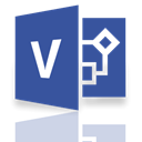 Mirror, visio DarkSlateBlue icon