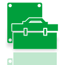 Device, manager, Mirror ForestGreen icon