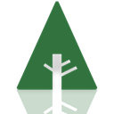 Mirror, Forrst SeaGreen icon
