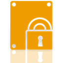 Bitlocker, Mirror Orange icon
