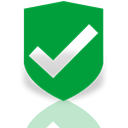 Mirror, Approved, security ForestGreen icon