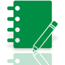 Mirror, Journal ForestGreen icon